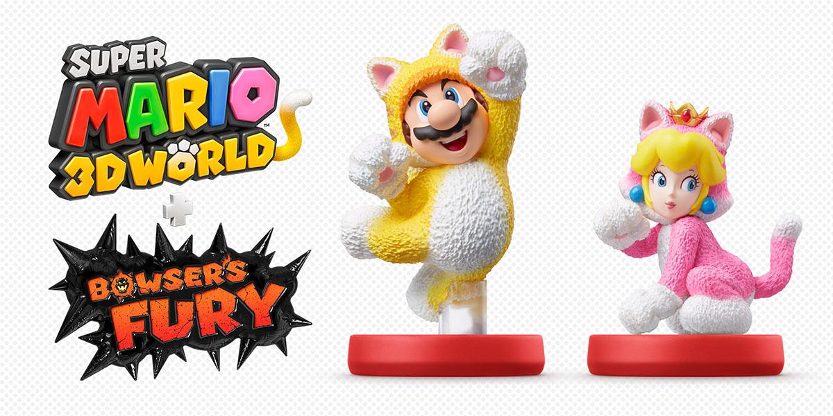 Les Amiibo dans Super Mario 3D World + Bowser's Fury