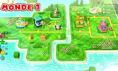 Guides et Soluces du monde 1 de Super Mario 3D World