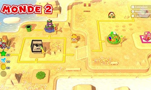 Guides et Soluces du monde 2 de Super Mario 3D World