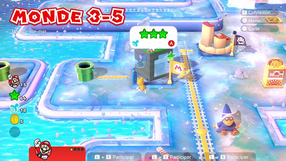 Soluce du Monde 3-5 : Tuyaux-sur-mer de Super Mario 3D World
