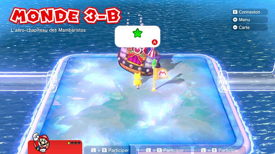 Soluce du Monde 3-B : L'aéro-chapiteau des Mambaristo de Super Mario 3D World