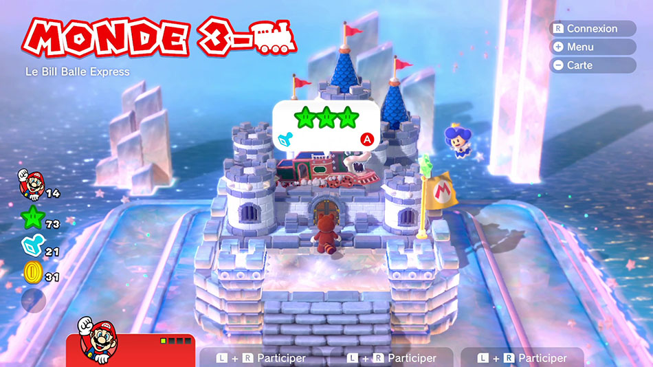Soluce du Monde 3-Château : Le Bill Balle express de Super Mario 3D World