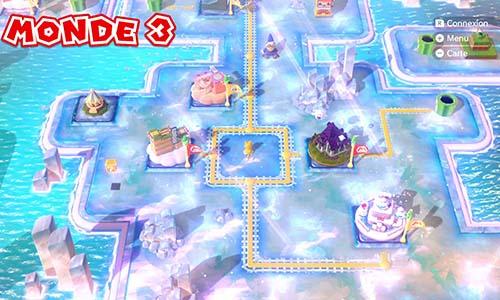 Guides et Soluces du monde 3 de Super Mario 3D World