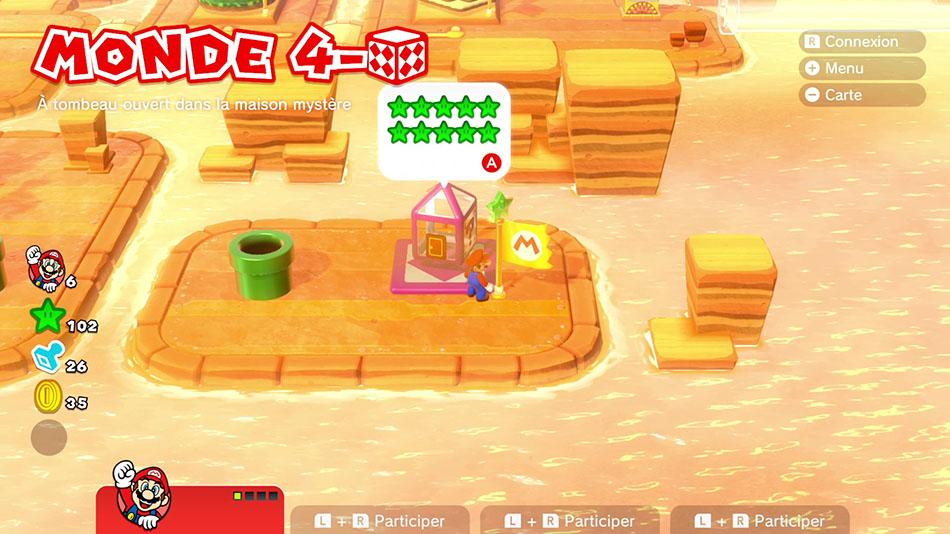 Soluce du Monde 4-Boîte Mystère : À tombeau ouvert de Super Mario 3D World