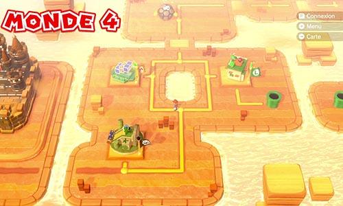 Guides et Soluces du monde 4 de Super Mario 3D World