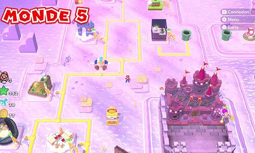 Guides et Soluces du monde 5 de Super Mario 3D World