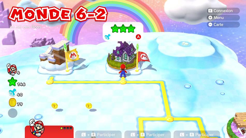 Soluce du Monde 6-2 : La nef des Boos de Super Mario 3D World