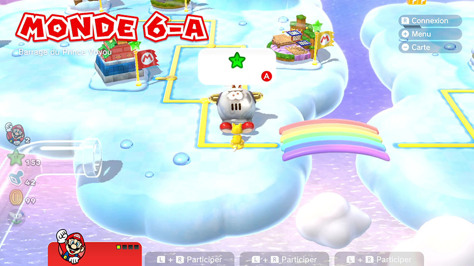 Soluce du Monde 6-A : Barrage du Prince Voyou de Super Mario 3D World