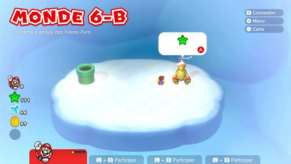 Soluce du Monde 6-B : Troisième planque des Frères Pyro de Super Mario 3D World
