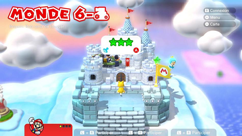 Soluce du Monde 6-Château : Brigade Bob-omb de Bowser de Super Mario 3D World