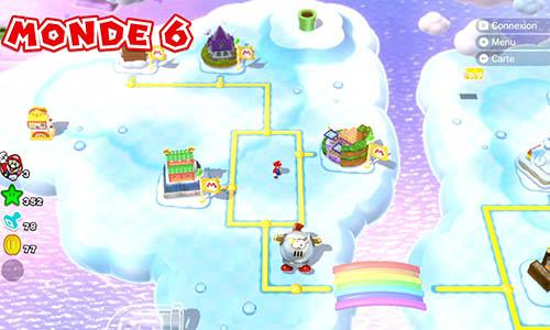 Guides et Soluces du monde 6 de Super Mario 3D World