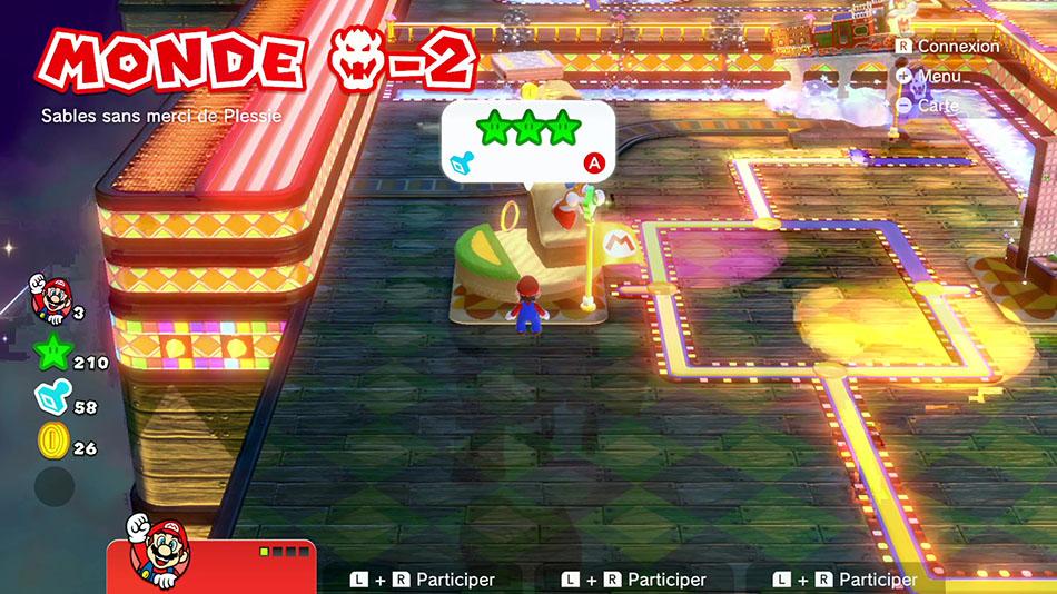 Soluce du Monde Bowser-2 : Sables sans merci de Plessie de Super Mario 3D World