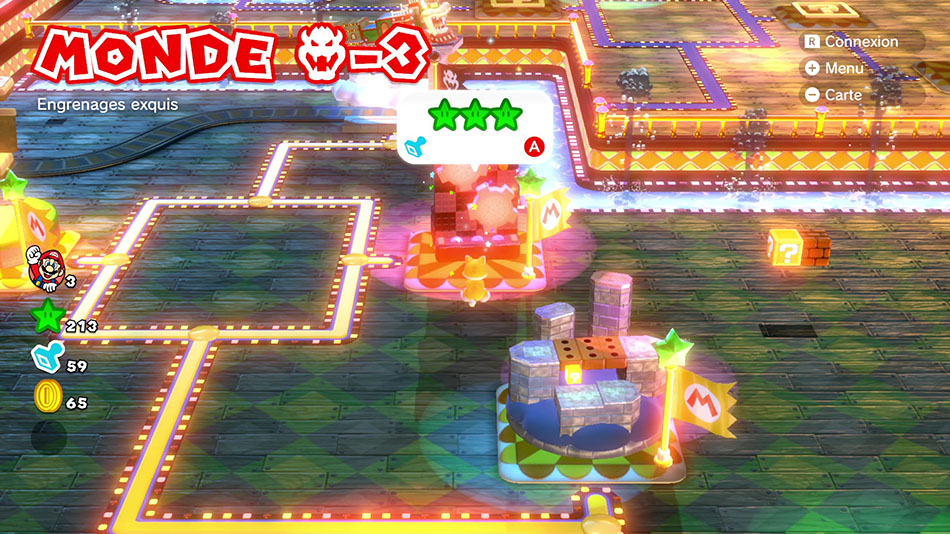 Soluce du Monde Bowser-3 : Engrenages exquis de Super Mario 3D World