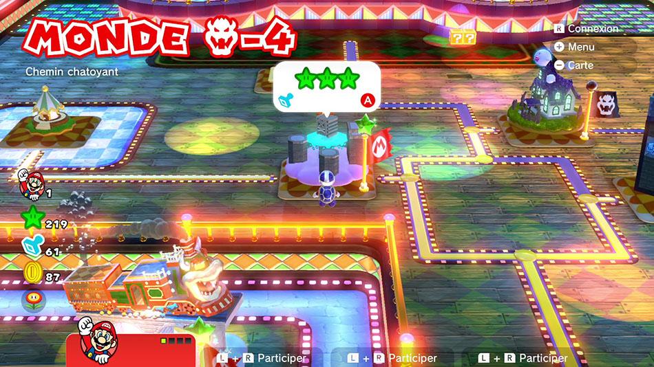 Soluce du Monde Bowser-4 : Chemin chatoyant de Super Mario 3D World