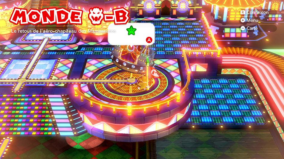 Soluce du Monde Bowser-B : Le retour de l'aéro-chapiteau des Mambaristos de Super Mario 3D World