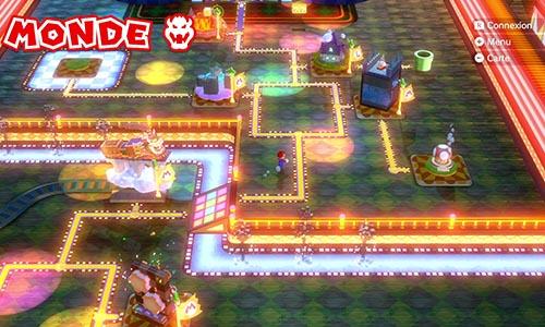 Guides et Soluces du monde du Bowser de Super Mario 3D World