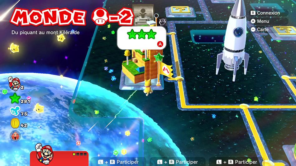 Soluce du monde Champignon-2 : Du piquant au Mont Kiléraide de Super Mario 3D World