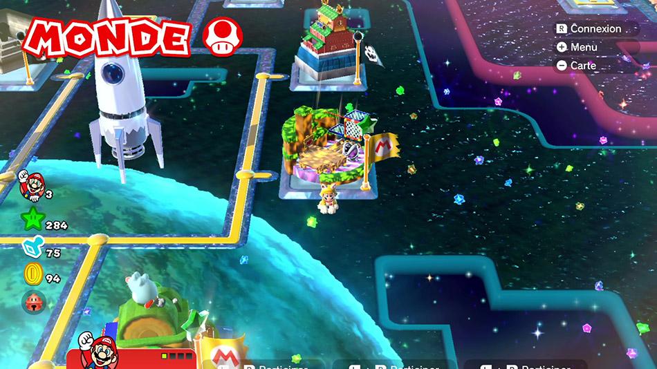 Soluce du Monde Champignon-3 : Nuit sur la mangrove de Super Mario 3D World
