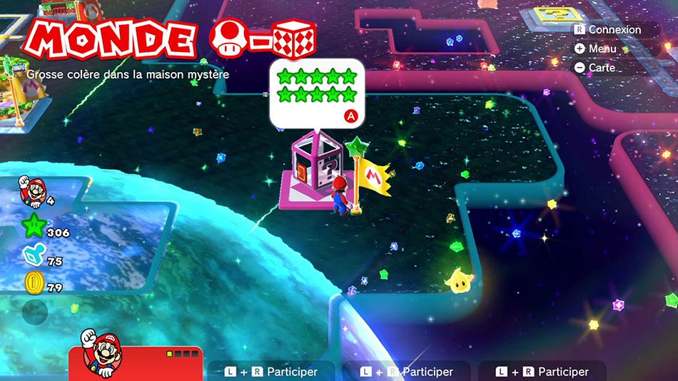 Soluce du Monde Champignon-Boîte Mystère : Grosse colère dans la maison mystère de Super Mario 3D World