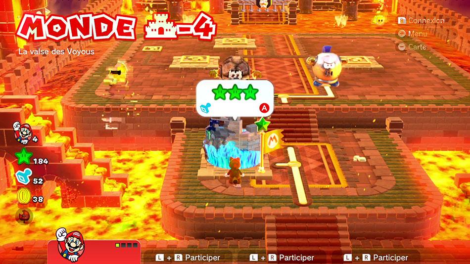 Soluce du Monde Château-4 : La valse des Voyous de Super Mario 3D World
