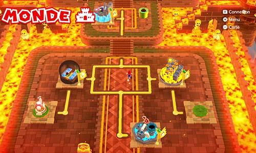 Guides et Soluces du monde du Chateau de Super Mario 3D World