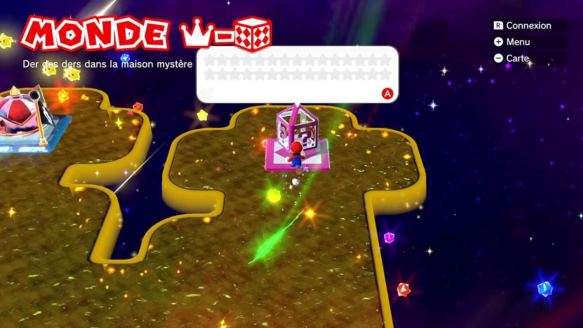 Soluce du Monde Couronne - Boîte mystère : Der des ders dans la maison mystère de Super Mario 3D World