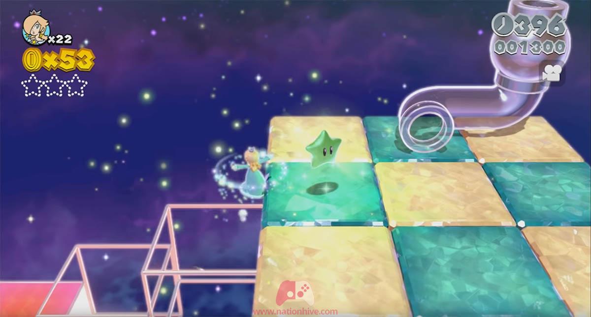 Emplacement de l'étoile 3