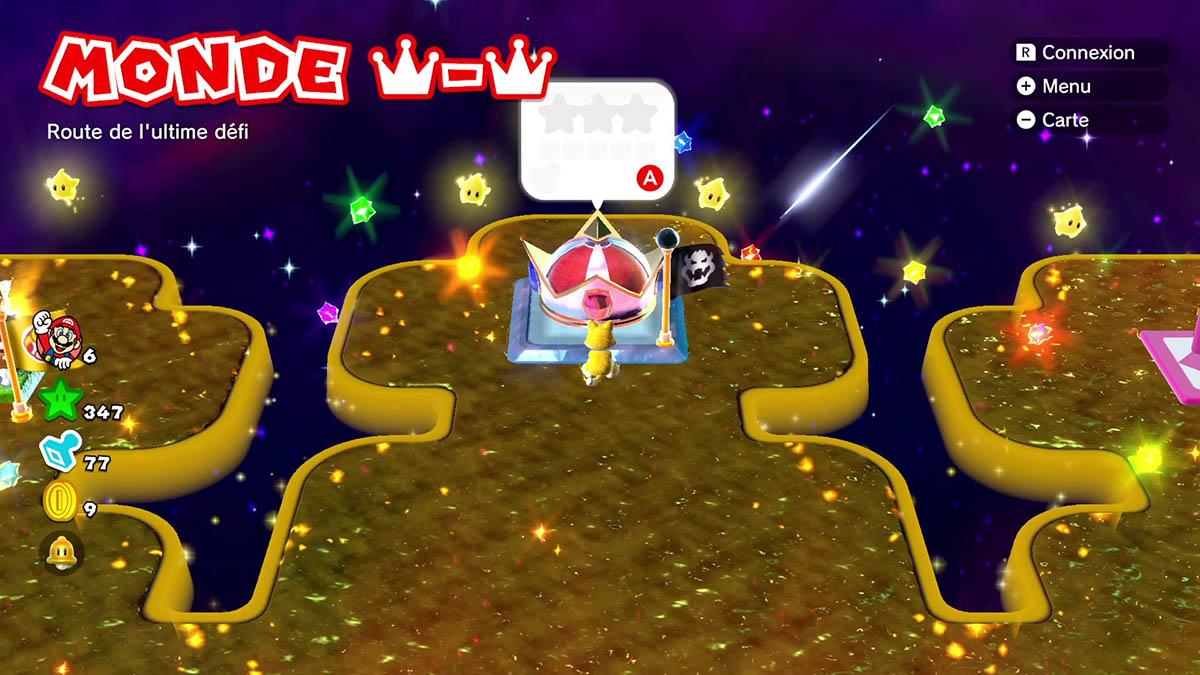 Soluce du monde Couronne-Couronne : Route de l'ultime défi de Super Mario 3D World