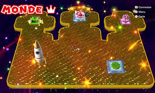 Guides et Soluces du monde du Couronne de Super Mario 3D World