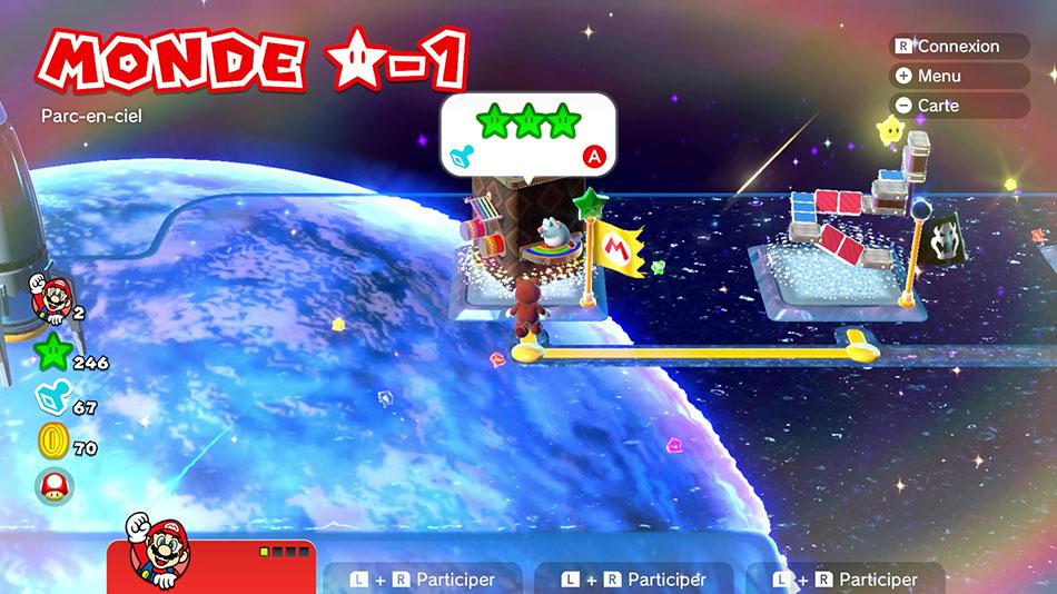 Soluce du Monde Étoile-1 : Parc-en-ciel de Super Mario 3D World