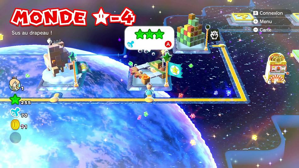 Soluce du Monde Étoile-4 : Sus au drapeau ! de Super Mario 3D World