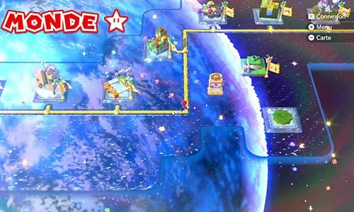 Guides et Soluces du monde du Étoile de Super Mario 3D World