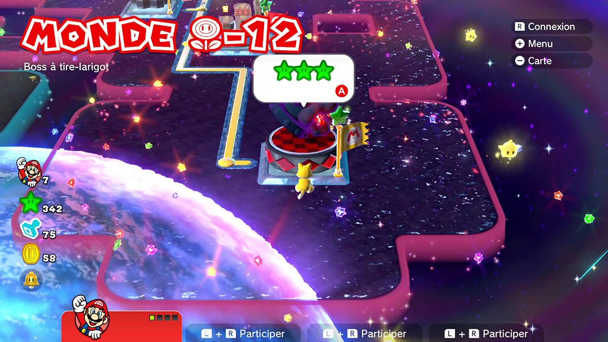 Soluce du Monde Fleur-12 : Boss à tire-larigot de Super Mario 3D World