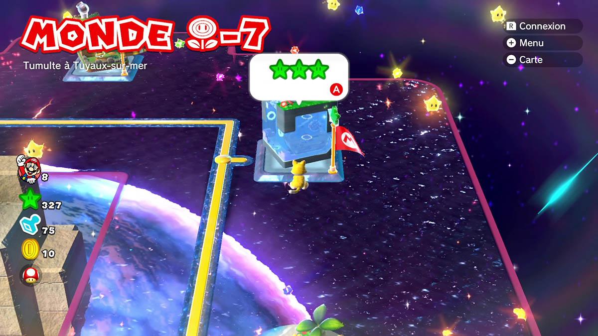 Soluce du Monde Fleur-7 : Tumulte à Tuyaux-sur-mer de Super Mario 3D World