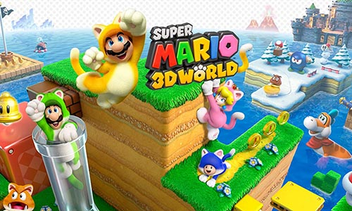 Guides et Soluces de Super Mario 3D World