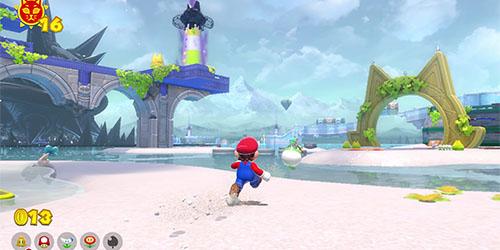 Mario dans le jeu