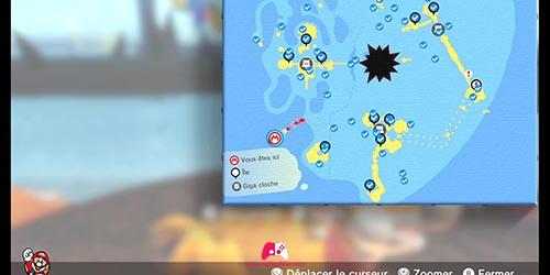Carte de l'île secrète
