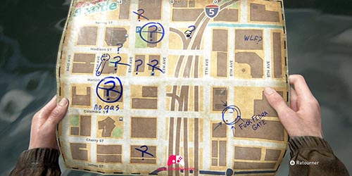 Carte du camion