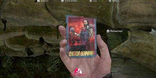 Carte à collectionner Doctor Uckmann