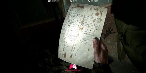 Lettre sur le cadavre
