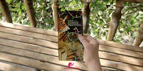 Brochure du zoo