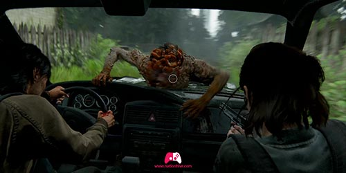 Tirer sur le claqueur en voiture