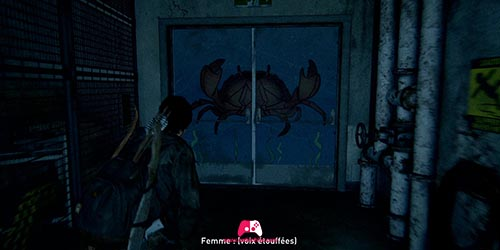 Porte avec Crabe