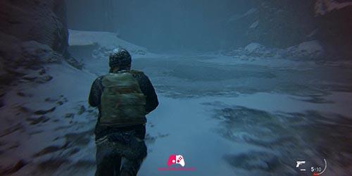 Avancez dans la neige