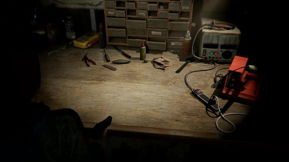Localisation de tous les établis de Last of Us II