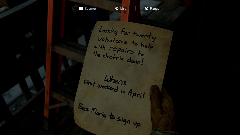 Liste des artefacts dans The Last of Us II