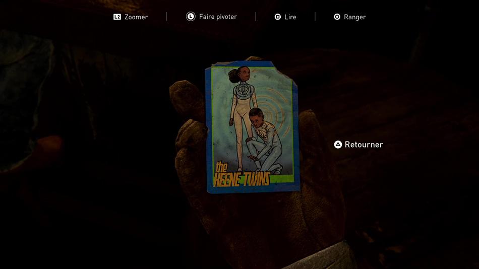 Liste des cartes à collectionner dans The Last of Us II