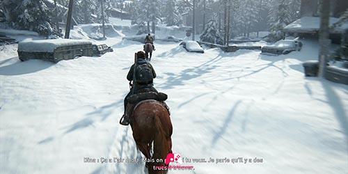 Descendre de cheval dans la rue