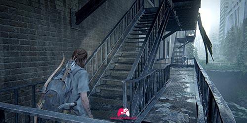 Sortez du métro par l'escalier