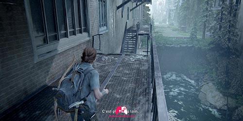 Sautez sur l'autre escalier